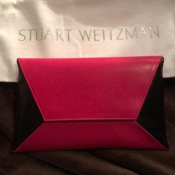 Stuart Weitzman Handbags - -SOLD- Stuart Weitzman mini clutch